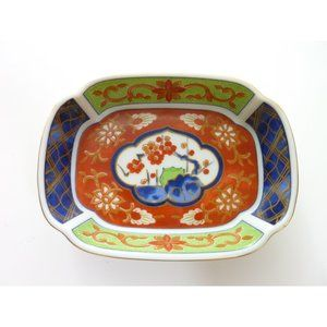 Japanese Takahashi Plate Dish Hand Decorated